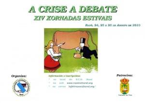 A crise a debate, xiv xornadas estivais SCD Raxó